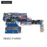 NOKOTION DAX63CMB6C0 PC Main BoardFor HP Probook 450 G3 Laptop Motherboard 15.6 inch SR2EZ i7 6500U DDR3L full tested