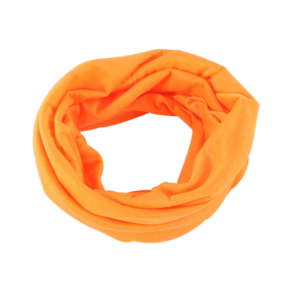 1pc Unisex Solid Brand New Scarf Tube Bandana Head Face Mask Neck Gaiter Snood Headwear Beanie Activity Magic Outdoor Bandanas
