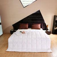 Peter Khanun White Duck Down Summer Quilt/  Comforter  /Duvet/Blanket TTC Shell Cut Through 4 Colors Twin Queen King Top Quality 022