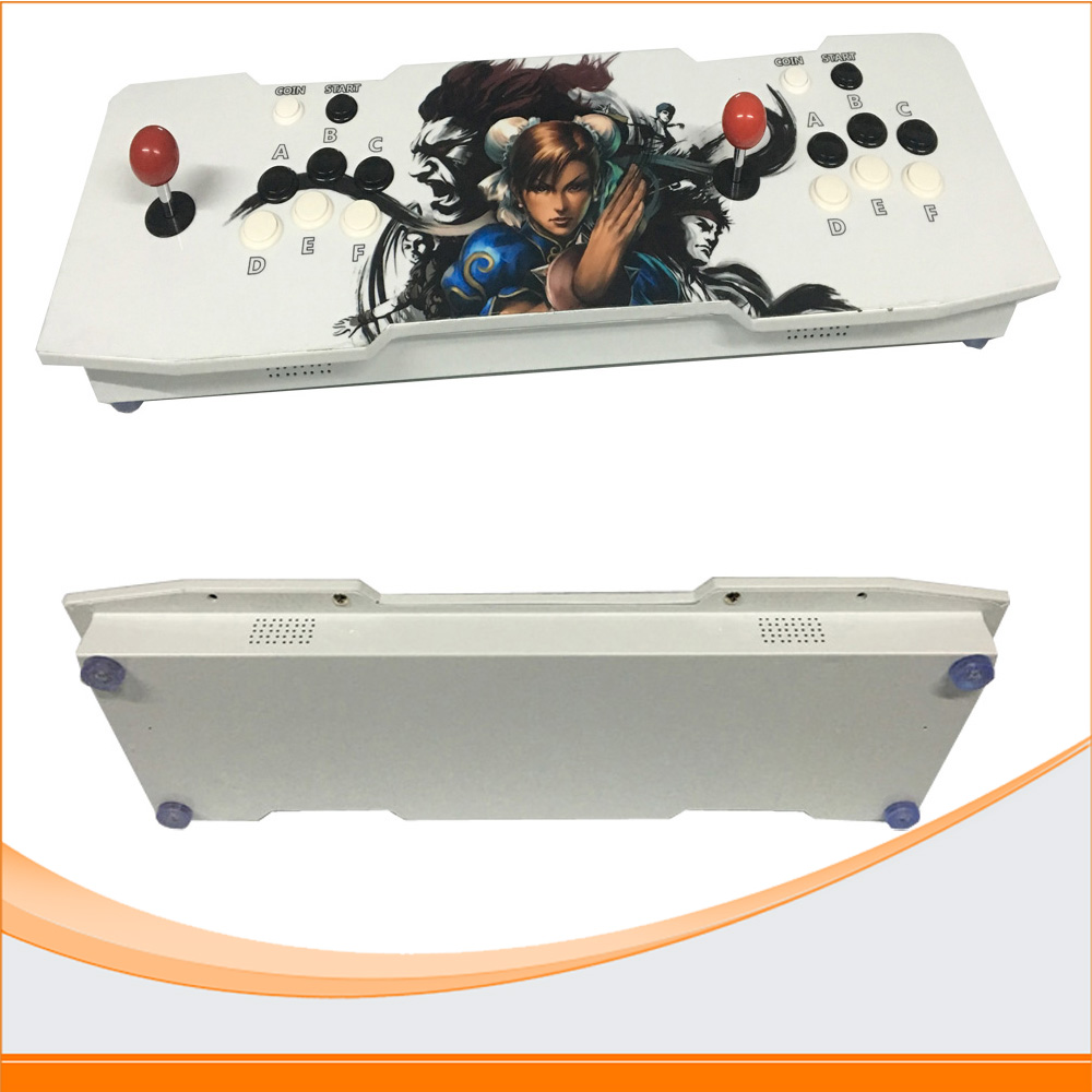 Double arcade games console+Pandora's Box 4S board/ arcade joystick game controller/ VGA and HDMI output arcade joystick gamepad kit 800 games in 1 video tv jamma 2 joystick vga hidmi metal double stick arcade console with 2players