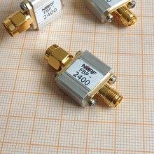 ใหม่ 1PC 2.4GHz 2450MHz RF coaxial bandpass filter/SMA สำหรับ WiFi Bluetooth Zigbee สัญญาณ