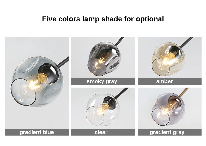 Nordic style pendant lamp living room home magic beans molecular ceiling lamps postmodern hotel bedroom chandelier dining lights (1)