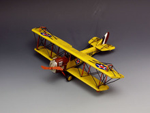 Free Shipping Handmade Retro Yellow fighter aircraft model