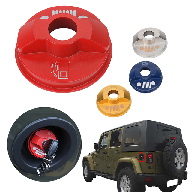 Car inner Fuel Gas Oil Filter Tank Cap Cover Fit for Jeep Wrangler