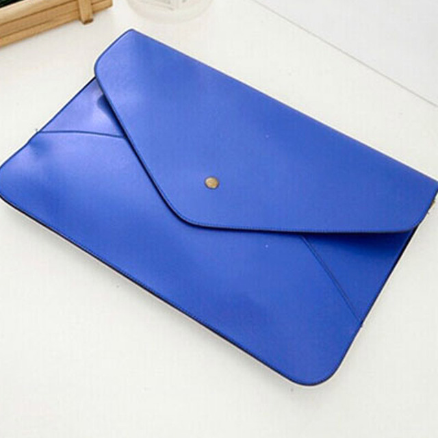 Cobalt Blue Oversize Envelope Clutch Bag