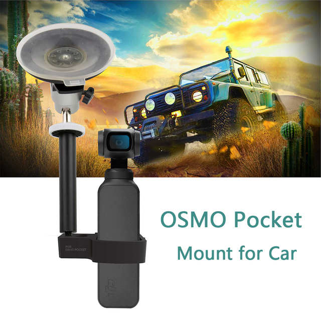 DJI OSMO Pocket Mount Bracket for Car Motorcycle Cycling Holder for DJI OSMO Pocket Handheld Gimbal Expansion Accessories