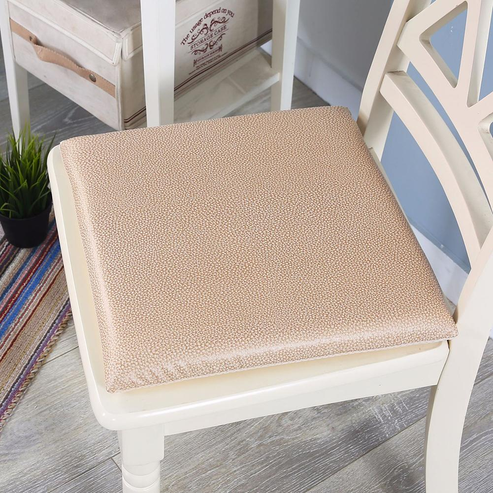 Super Leather Memory Foam Chair Cushion Soft Comfort Breathable Office Bed Backrest Pad Detachable Slow Rebound Cushions In Cushion From Home Garden On Frankydiablos Diy Chair Ideas Frankydiabloscom