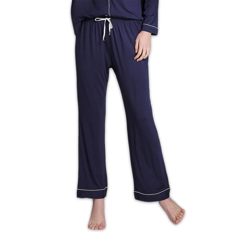Spring simple Pure color modal women sleep bottoms plus size casual Lounge pants for women Home trousers casual Sleep pants