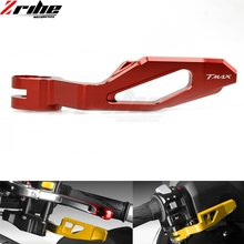 6 Colors High Quality Motorcycle CNC Aluminum Parking Brake Lever for Yamaha TMAX 500 2008-2011 T-MAX 530 TMAX 530 2012-2016 fasp tmax 530 motorcycle scooter sticker decal modified vehicle decorate protect high quality pvc stickers for tmax 530 12 16