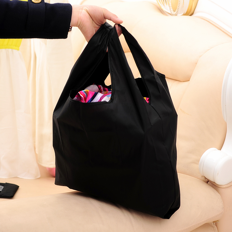 Fashion Foldable Wide Mouth Environmental Protection Shopping Bag 54.5*33.5cm