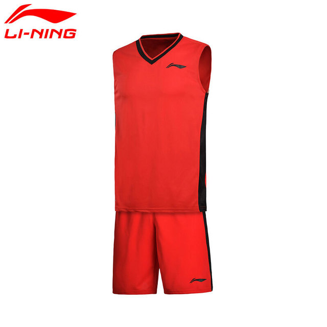 Genuine Li-Ning Men's Basketball Competition Uniform Suit AT DRY LiNing Sports Jerseys+Shorts AATM003 L688
