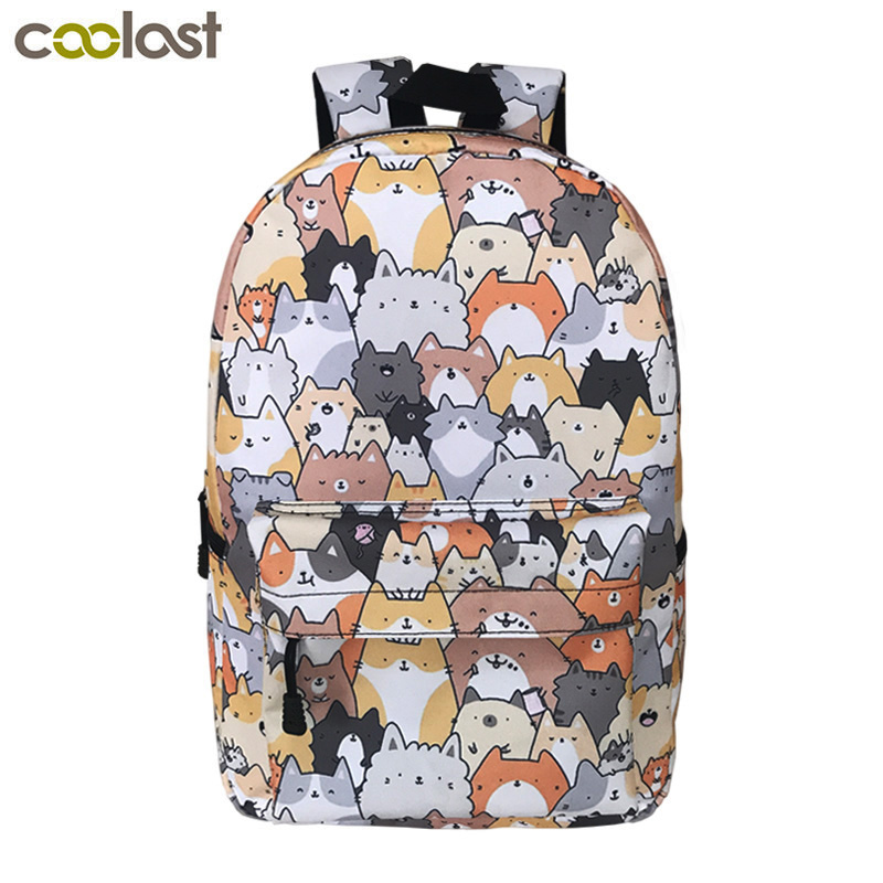 Buy Cute Puppy Dog Backpack For Teenager Boys Girls Children School