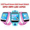 Niños Reloj GPS Q750 WIFI 1.54 de la pantalla táctil para niños aprendizaje temprano Inteligente reloj bebé Anti-caído Llamada SOS de alarma podómetro de seguimiento de