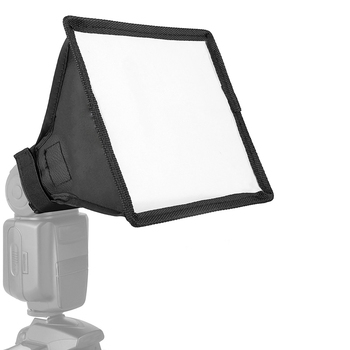 Universal Flash Diffuser Light Softbox Collapsible Speedlite Translucent Soft Box with Carry Bag For DSLR Camera Speedlights 1