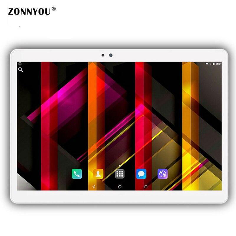 10.1 inch Tablet PC Android 7.0 Octa Core 4 GB RAM 32 GB ROM GPS WIFI 3G Call Dubbele SIM-kaart Telefoongesprek tabletten 10.6' lnmbbs metal new function tablet android 7 0 10 1 inch 1 gb ram 16 gb rom 8 core dual cameras 2 sims 3g phone call gps