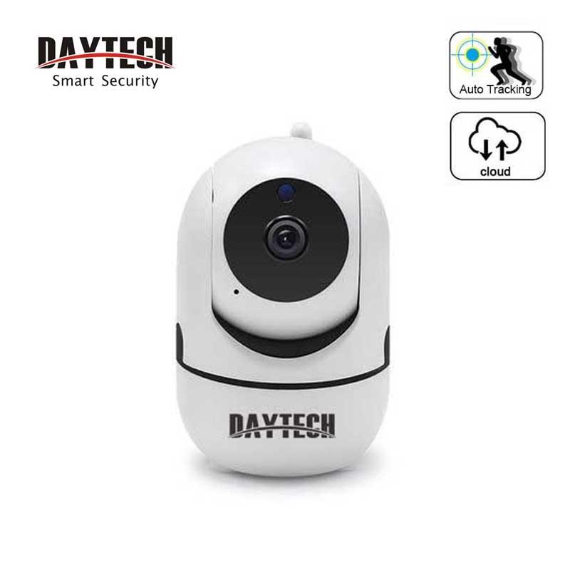 Daytech wifi câmera ip 720 p câmera de segurança em casa vigilância sem fio wi-fi monitor do bebê visão noturna ir áudio em dois sentidos