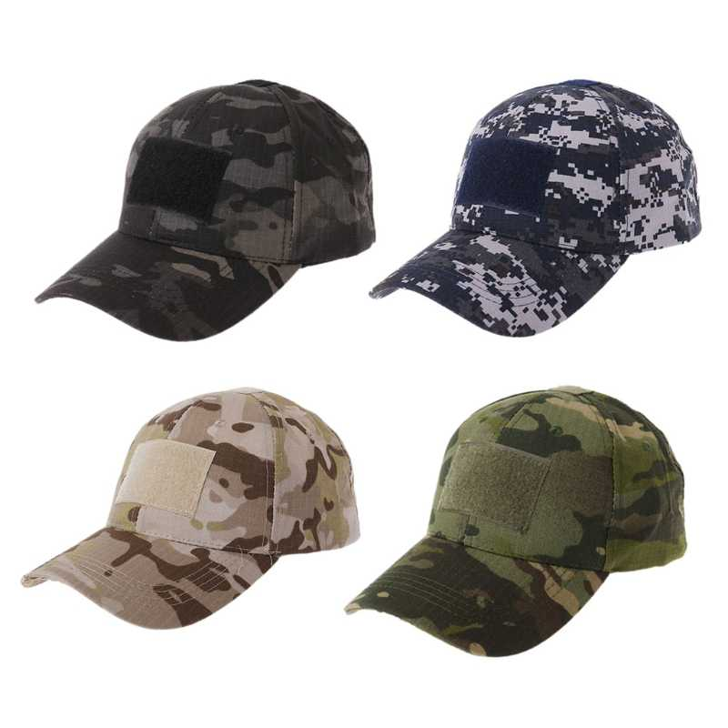 Detail Feedback Questions about Military Tactical Camo Cap Army ... 0be04d79915b