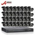 ANRAN 32CH Система Безопасности AHD 1080N HDMI DVR Комплект 32 шт. 720 P 1800TVL ИК Ночного Vison Пуля Открытый АХД Видеонаблюдения камера
