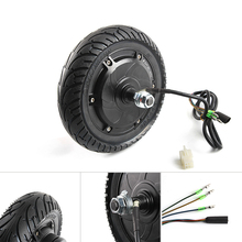 Electric Scooter Hub Motor Wheel 24V 36V 48V DC Brushless Toothless 8 Wheel Motor E-Scooter Wheel Bicycle Motor Wheel E-bike 48v 1600w central drive high speed brushless dc motor 5000rpm electric bicicleta eletrica brushless motor wheel