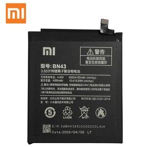 Image 3 - 100% Original réel 4100mAh BN43 batterie pour Xiaomi Redmi Note 4X Snapdragon 625 / Note 4 mondial Snapdragon 625