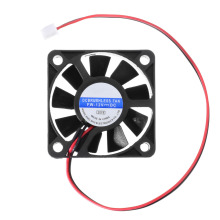 50mm 12V Computer Case PC Cooling Fan Mini 2.5Pin 3Pin CPU Silent Cooling Fan CPU Heat Sink for Computer Cooler 2017 new 8cmx8cmx2 5cm new 3pin 12v computer pc cpu silent 8025 cooling case fan 7 blade pc cpu cooling fan black