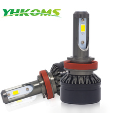 YHKOMS Auto H11 LED Bulbs H1 H3 H4 H7 H8 H9 9005 9006 HB3 HB4 880