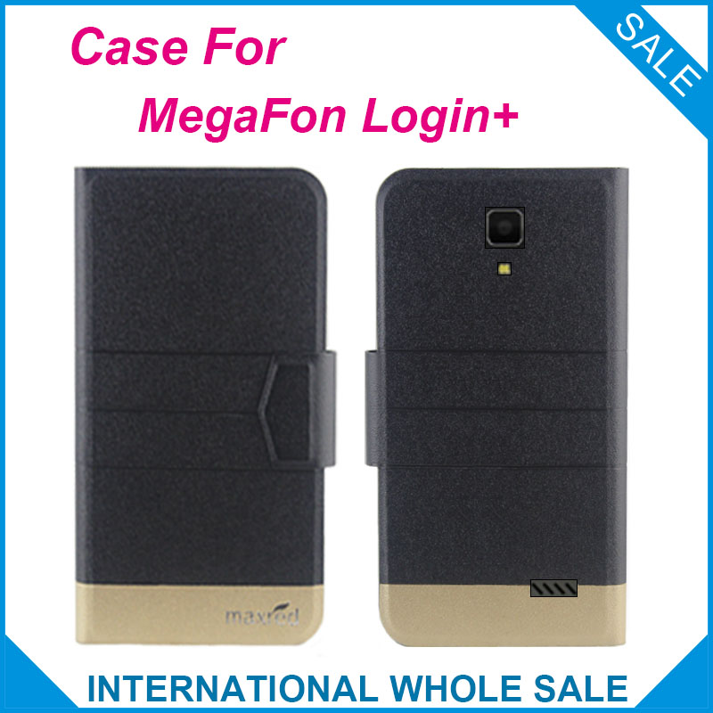 5 Colors Hot! MegaFon Login+ Case New Fashion Business Magne