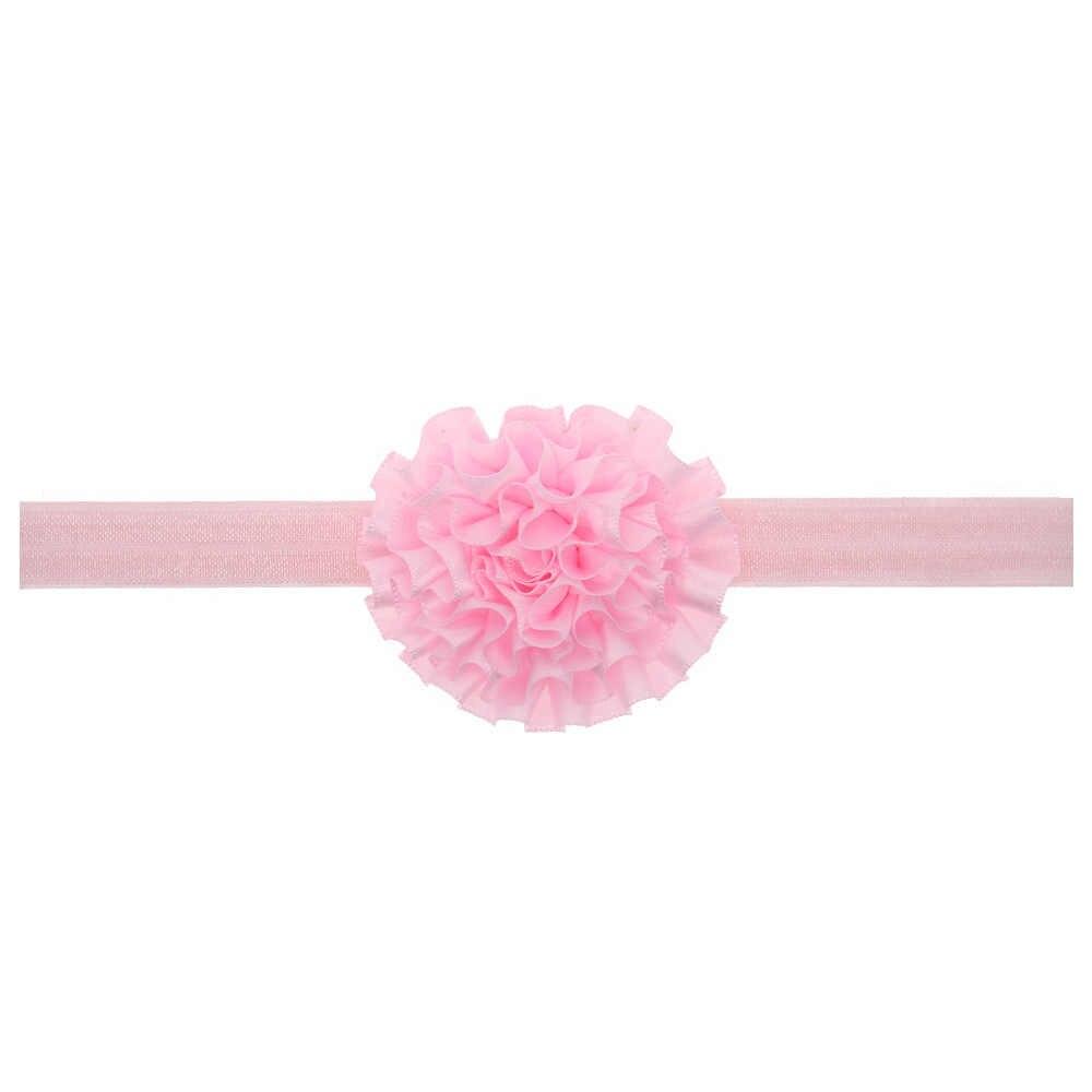 เด็กทารกแถบคาดศีรษะทารกอุปกรณ์เสริมผมวงดอกไม้ bows ทารกแรกเกิด Headwear tiara headwrap ของขวัญดอกไม้เด็กวัยหัดเดินริบบิ้นผ้าพันคอ