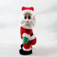 2019 Christmas Electric Twerk Santa Toys Music Dancing Doll Navidad Table Decorations For Home New Year Gifts Children Accessori