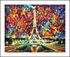 Eiffel Tower Diamond Embroidery 5D Painting Cross Stitch Mosaic Pattern Square Rhinestone Needlework Gift Home Decor