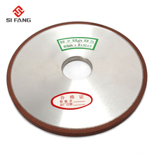 цена на 150mm Diamond Grinding Wheel Grinding Disc For Mill Sharpening Grinding Wheel Rotary Abrasive Tools   150 Grit