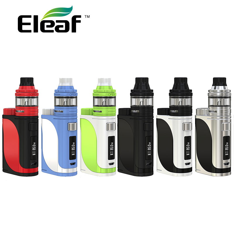 Original 85W Eleaf IStick Pico 25 with 2ML ELLO Tank Vape Kit Electronic Cigarette Dense Vapor VS 85W Istick Pico 25 Box MOD