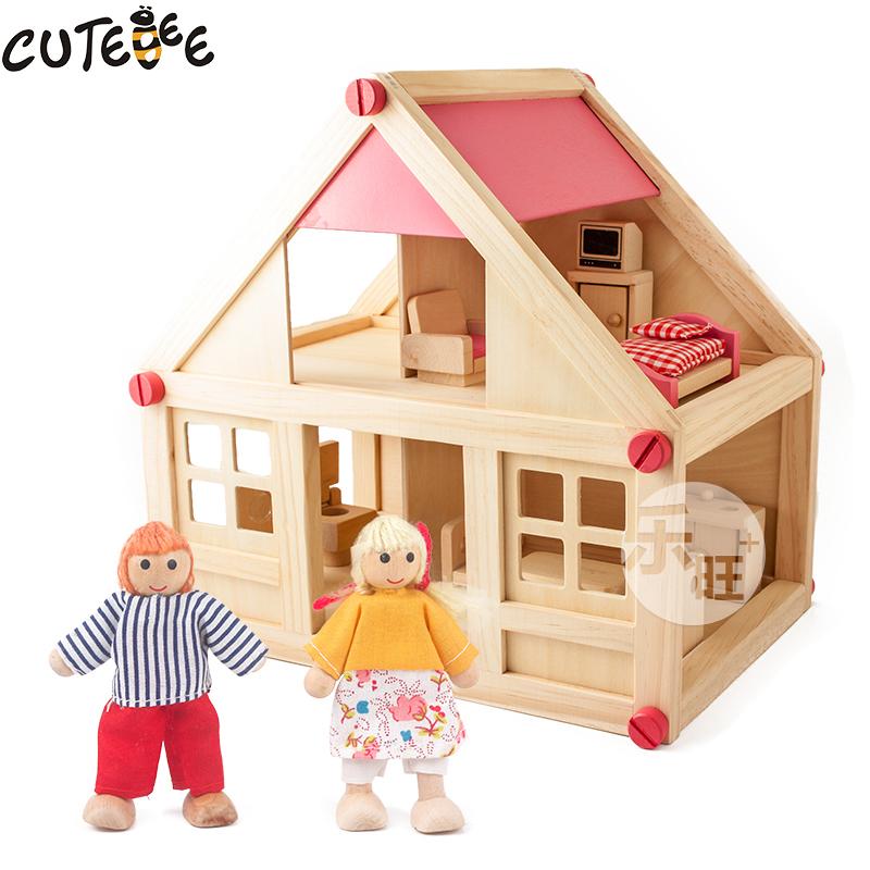 cutebee juegos de imaginacin juguetes muebles conjunto de juguete de casa de muecas muebles de casa
