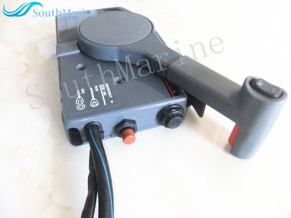 P 703-48205-14-00 10 p подвесной пульт дистанционного управления коробка 48207-703-11-00 для Yamaha 703 лодочный мотор 48205-703-15-00, правая рука