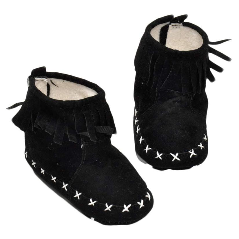 2018 Baby Tassels Snow Boots Soft Crib Shoes Toddler Boots