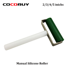 Novecel Free Shipping Manual Silicone Roller for Applying OCA and Polarizer-Green