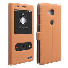 Top Quality Classic Genuine Leather Stand Cover Case For Huawei Honor 5X Flip Phone Bag