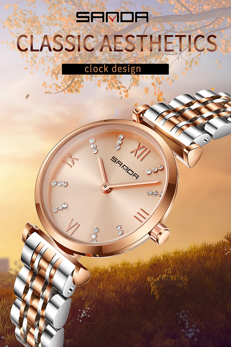pink rose gold famous brand watches, ladies star casual waterproof vintage watch, stainless steel women fashion designer watchpink rose gold famous brand watches, ladies star casual waterproof vintage watch, stainless steel women fashion designer watch