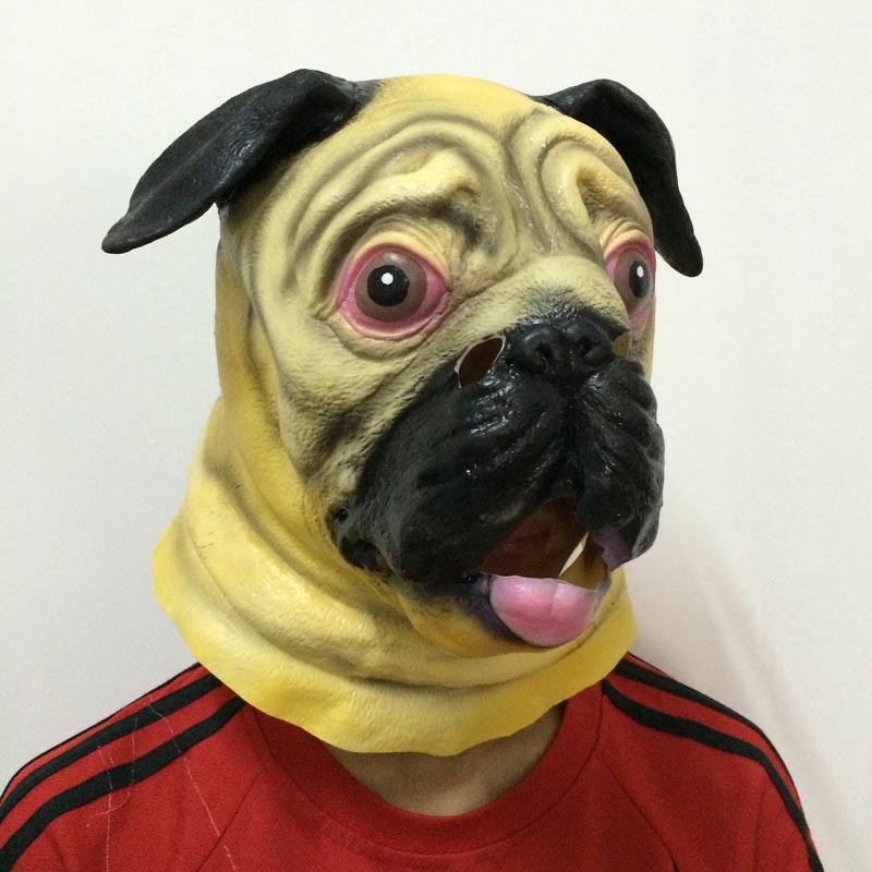 Masque pug Head