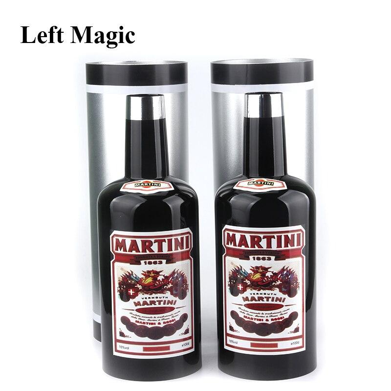 Multiplier les bouteilles 10 bouteilles noir (liquide versé) tour de magie étape accessoires magiques gros plan mentalisme Illusion jouet classique - 3