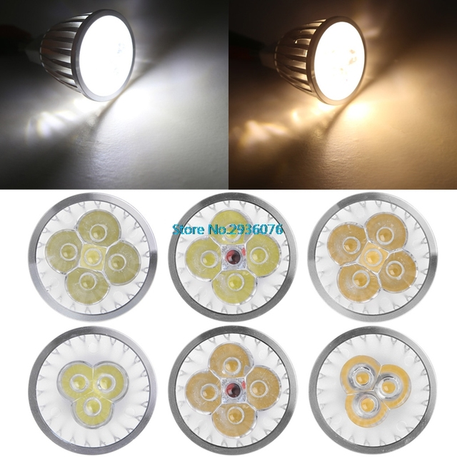 Led Spotlight MR16 LED Lamp 9W 12W 15W Led Bulb Lights 12V White ...