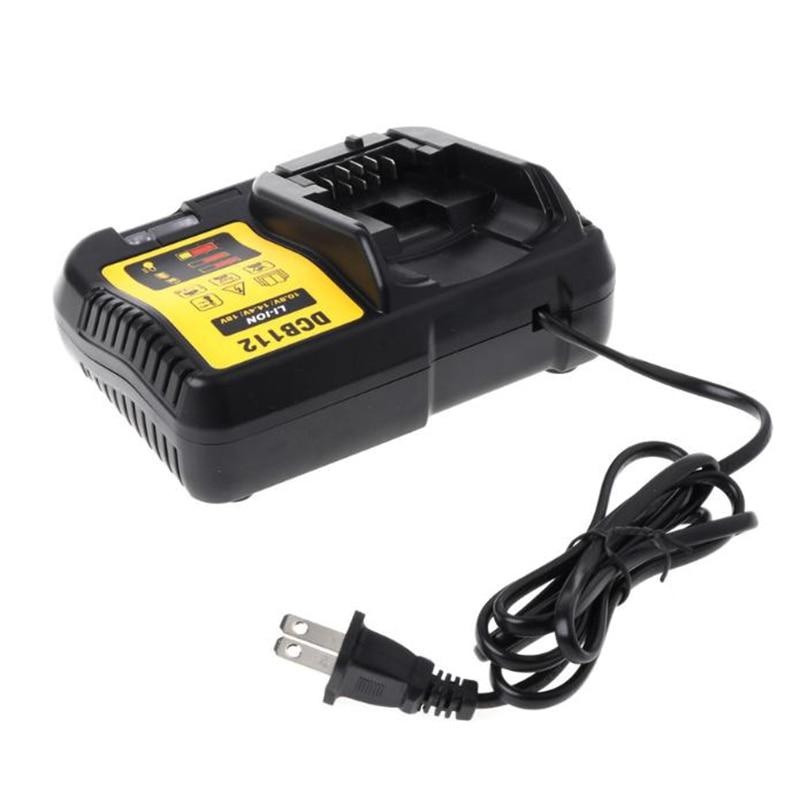 Image 4 - Dcb112 Li Ion Battery Charger For Dewalt 10.8V 12V 14.4V 18V Dcb101 Dcb200 Dcb140 Dcb105 Dcb200 Black-in Chargers from Consumer Electronics