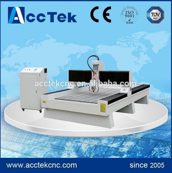 AKS 1325 New Designed Stone Sink Cutting Machine Lathe Cnc Router For Stone Marble Tomestone Granit