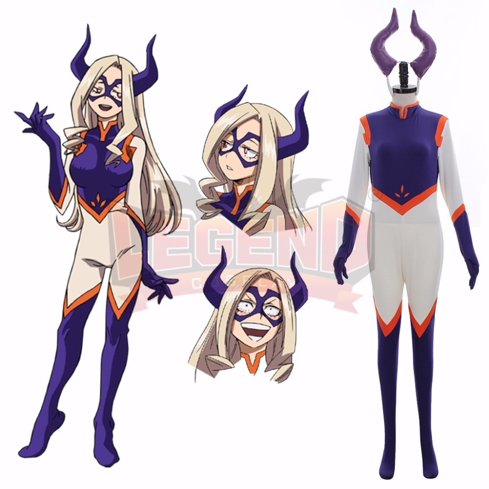 My Hero Academia Boku no Hero Akademia Mt LADY Cosplay Costume Outfit Halloween Adult Costume Custom