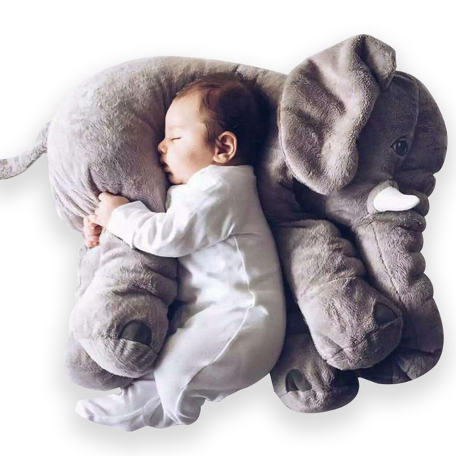 40cm/60cm Large Elephant Plush Doll Toy Pillow Infant Soft For Sleeping Stuffed  Plush Toys Elephant Figure Kids Doll Toys gift