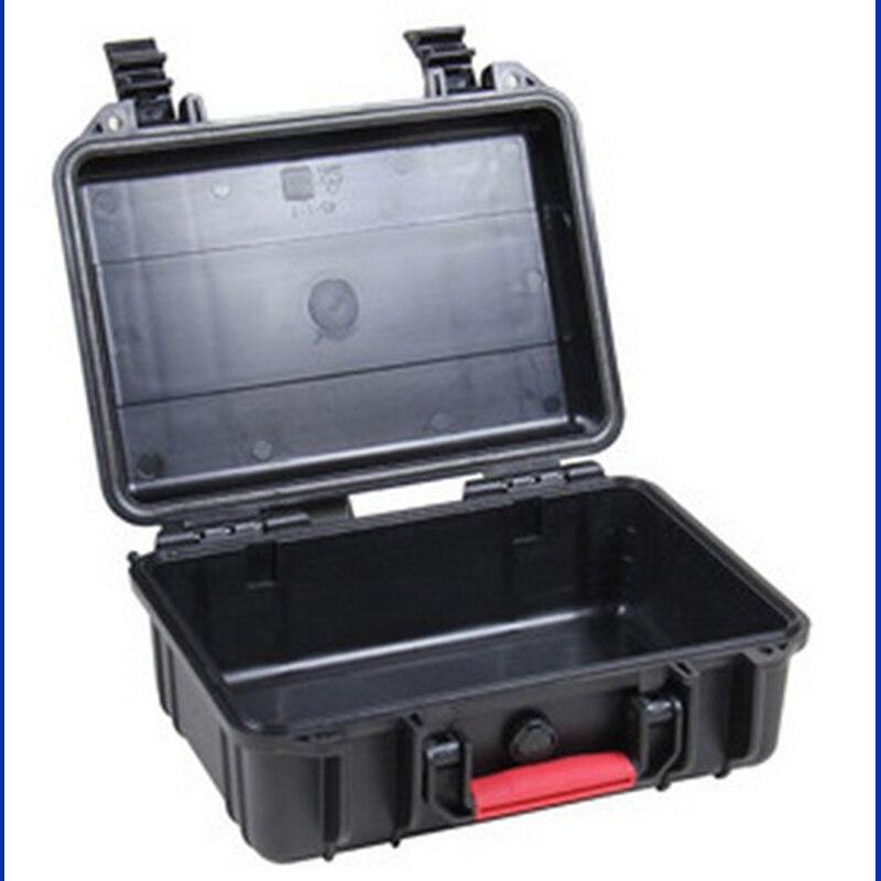 جعبه ابزار tollbox ضربه ضد آب بسته بندی شده ضد آب مورد مورد26263x206x156mm تجهیزات امنیتی با روکش فوم پیش از برش