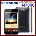 N7000 original desbloqueado samsung galaxy note i9220 n7000 8mp 5.3 ''gb de ram + 16 gb rom 3g wcdma 2500 mah celular grátis grátis