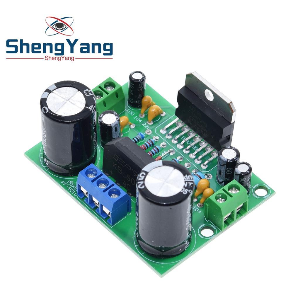 Плата цифрового аудио усилителя ShengYang TDA7293, моно, одноканальный, переменный ток 12-50 в, 100 Вт
