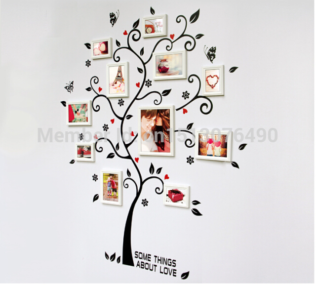 100*120Cm 3D DIY Removable Photo Tree