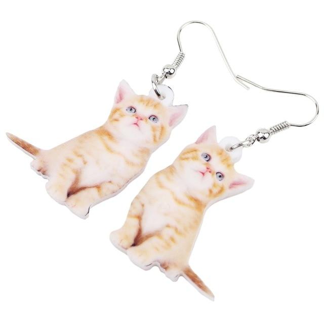 Kitten Earrings 1